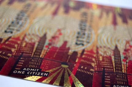 Burning Man ticket 2010