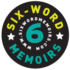 6 word memoirs Logo design
