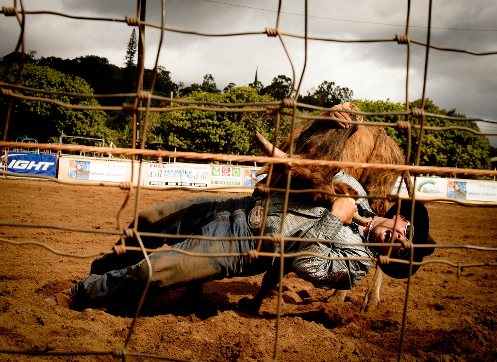 makawao rodeo, Maui, Hawaii