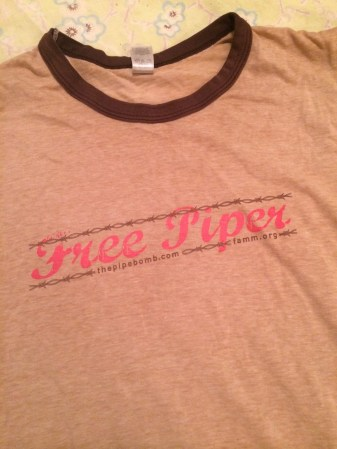 Orange is the New Blac, - Free Piper tshirt to benefit FAMM