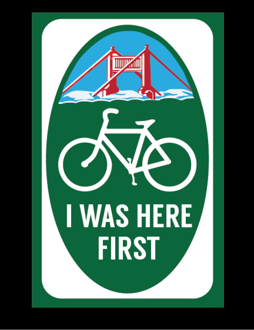 San Francisco gentrification bike image