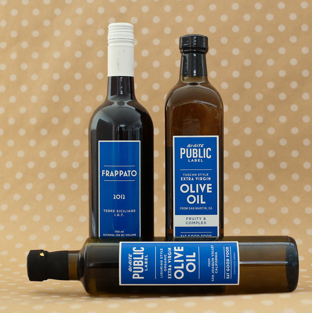 Bi-Rite Public Label, packaging design