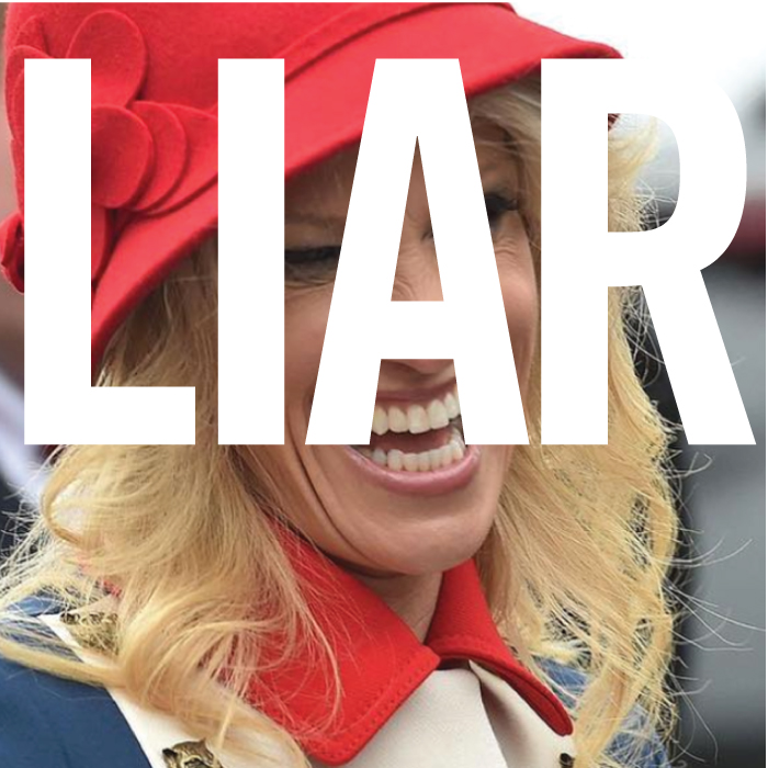 Kellyanne Conway is a liar
