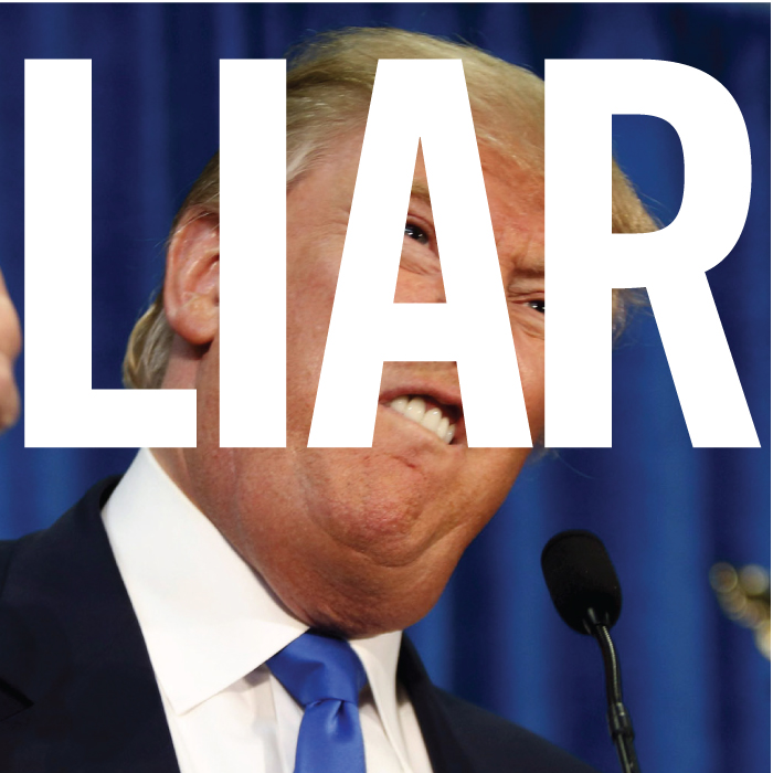 Donald Trump is a liar