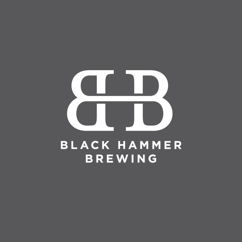 logo design for Black Hammer Brewing, San Francisco based beer brewer