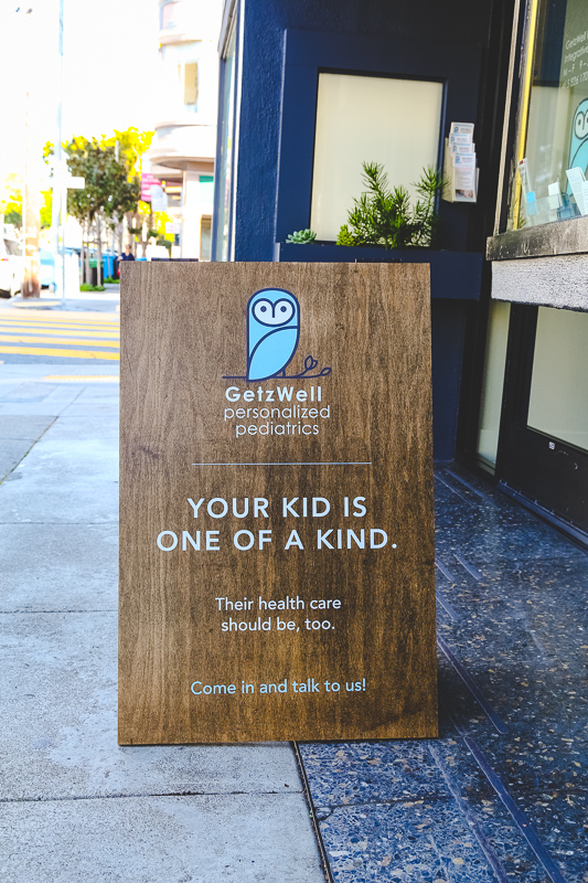 logo and branding for Noe Valley Pediatrician