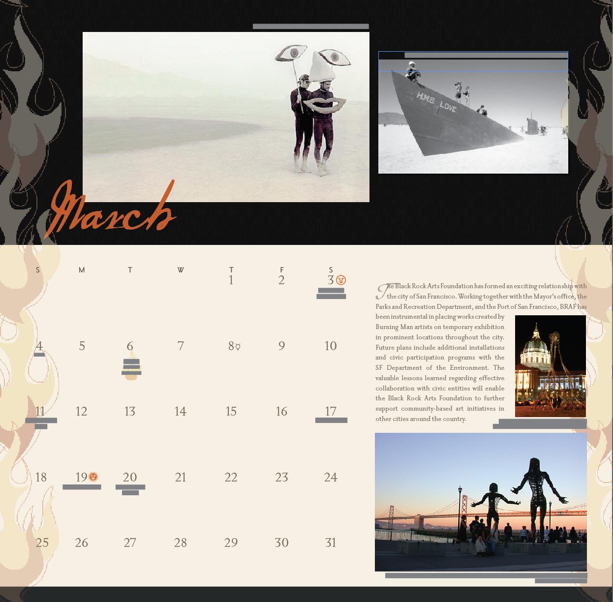 design, print design, annual report, brochure, burning man graphic designer