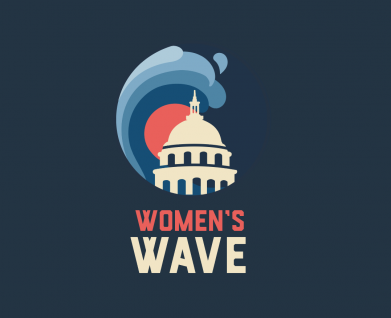 Women's March Women's Wave logo 2019