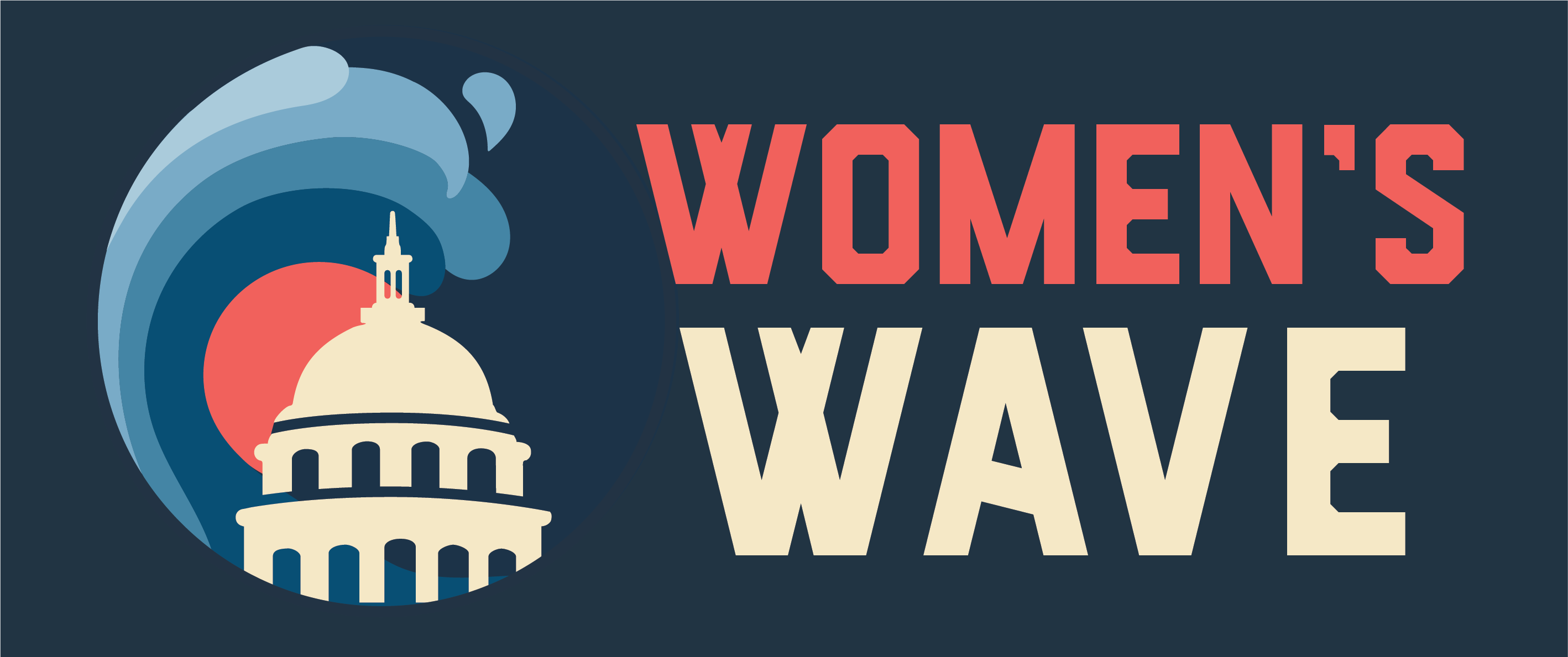 Women's March, Women's Wave Banner design