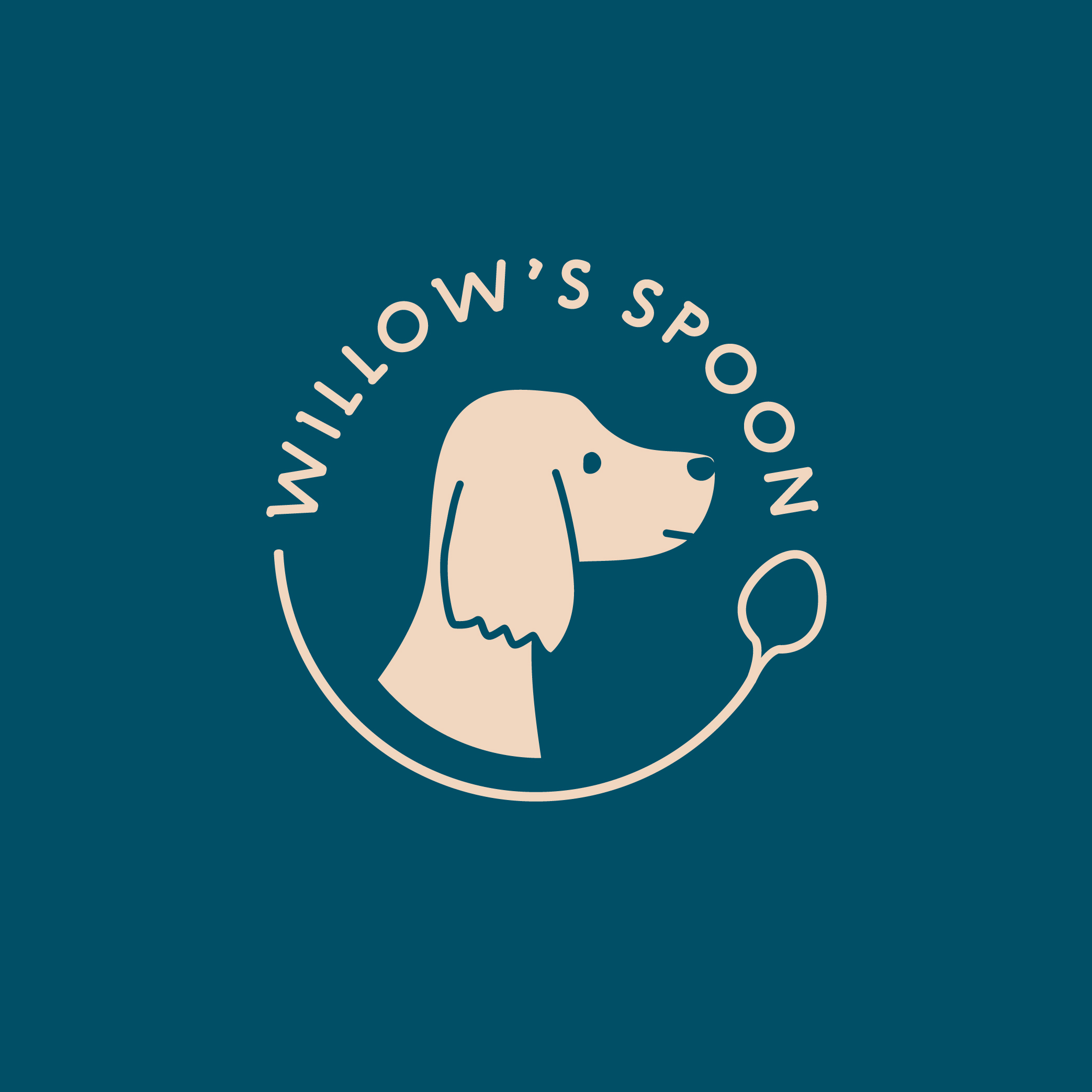 willow's spoon dog treat logo